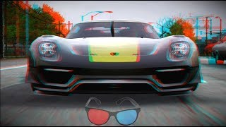 Amazing 3D Racing Video 3D ANAGLYPH  RED CYAN HD 1080p 3Dn3D