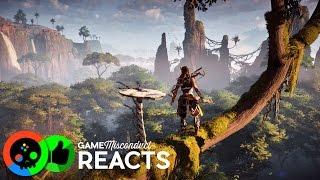 Horizon Zero Dawn Story Trailer Reaction - Game Misconduct Reacts