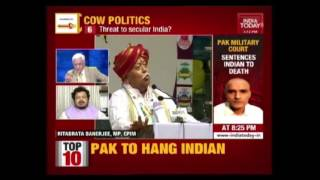 To The Point: Will Govt Pay Heed To Bhagwat's Advice To Ban Cow Slaughter?