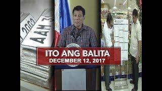UNTV: Ito Ang Balita (December 12, 2017)