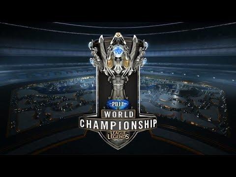 WE vs. C9 - Quarterfinals Day 4   2017 World Championship   LOL Esports
