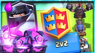 Mega Knight is Here!! + MAGICAL CHESTS + 2V2 • Today is a Good Day in Clash Royale