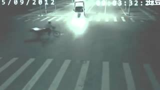 ANGEL saves a man  caught on CCTV in China