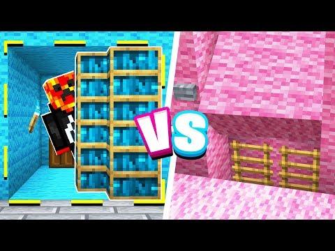 ULTIMATE Minecraft Boy vs Girl SECRET ROOM Challenge