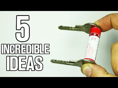 5 incredible ideas and Life Hacks