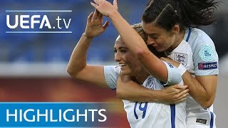 Women's EURO highlights: Portugal 1-2 England