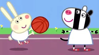Peppa Pig English Episodes | Peppa Pig Plays Basketball Peppa Pig Official