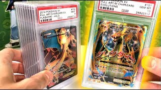 OPENING MYSTERY BOX WITH RARE GRADED POKEMON CARDS!