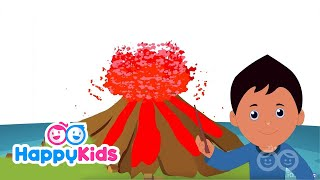 Volcano - Learning Songs Collection For Kids And Children