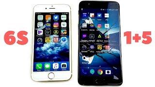 iPhone 6S vs OnePlus 5 Speed Test!