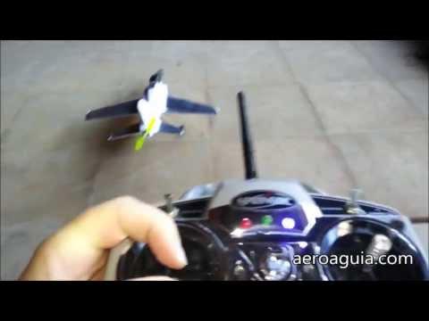 Aviões de Controle Remoto Voando Baixo AeroAguia