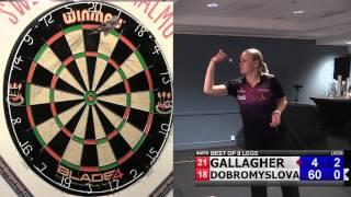 Swedish Open 2015 - Ladies. Casey Gallagher vs Anastasia Dobromyslova (Final, best of 9 legs)