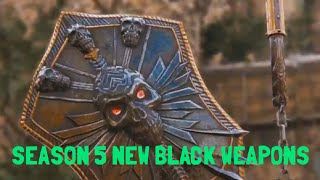 [For Honor] SEASON 5 NEW LIMITED BLACK WEAPONS