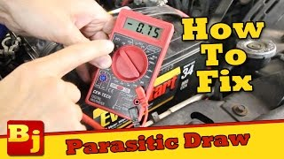 Why Does My Battery Keep Dying? - Parasitic Draw Test and Fix - Operation Cheap Jeep