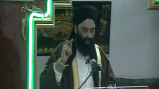 first lecture  after coming from Switzerland  Allama Mukhtar Shah Naeemi Ashrafi  2/3