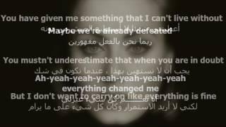 اغنية Adele   love in the dark مترجمة