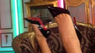 Mikaela Witt stocking feet, sexy heels!