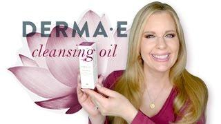 Derma E Review | Drugstore Natural Skincare | Nourishing Rose Cleansing Oil