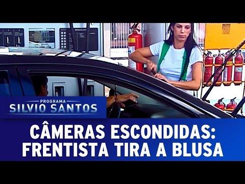 Frentista Tira a Blusa Câmeras Escondidas 30 04 17