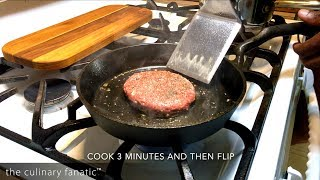 The Ultimate Cast Iron Brown Butter Cheeseburger
