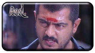 Red Tamil Movie   Scenes   Ajith Fights to Rescue People   Raghuvaran   Deva