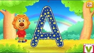 ABC Song | ABCD Alphabet Songs | Alphabet Songs for children - 3D Nursery Rhymes - Vilok TV