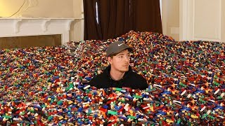 I Put 10 Million Legos in Friend