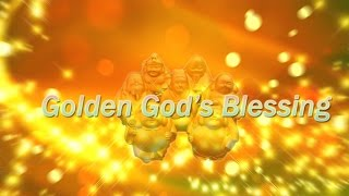 【見るだけ開運】幸福の神々が画面から貴方に金の波動を送り続けます【黄金の七福神】