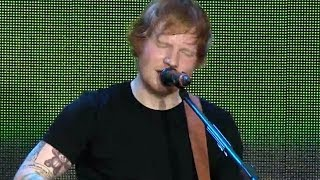 ed sheeran  thinking out loud summertime ball 2014