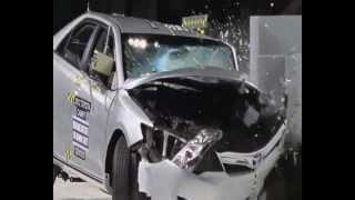مقارنة بين السيارات الكورية وتويوتا اليابانية في التصادم
