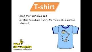 learning vocabulary video clothes 1