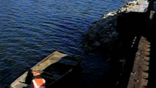 V&H Trucks Roto Dump: Unloading into Water