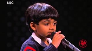 Akash Vukoti. The Spelling Bee whiz