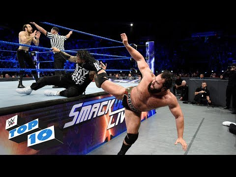 Xxx Mp4 Top 10 SmackDown LIVE Moments WWE Top 10 December 12 2017 3gp Sex
