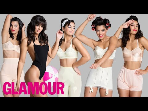 100 Years of Women's Underwear l Beauty & Style l Glamour