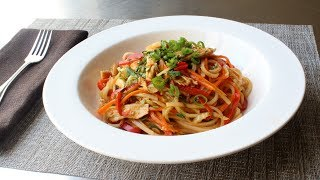 Spicy Chicken Noodles - Easy Asian-Inspired Chicken Noodles Recipe