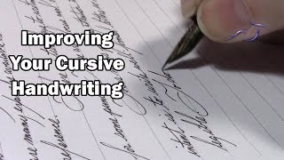 Improving Your Cursive Handwriting