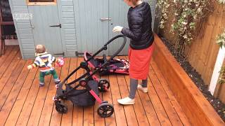How to fold and unfold the Koochi Modhero pushchair | MadeForMums