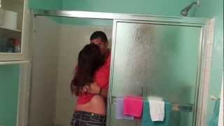 Surprise in the shower!