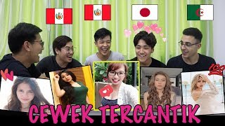 【MAKNYOS】REAKSI COWOK LUAR NEGERI LIAT ARTIS & YOUTUBER CEWEK INDONESIA !(KIMI HIME,LUCINTA LUNA)
