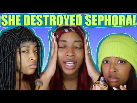 STORYTIME: THE LITTLE GIRL WHO DESTROYED OUR STORE! (SEPHORA)