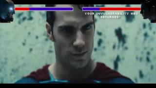 Batman Vs Superman with Healthbars - Part 2