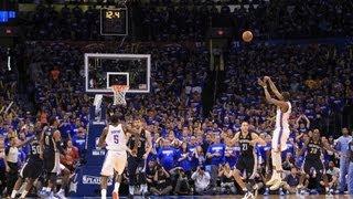 2013 NBA Playoffs: Clutch Shots