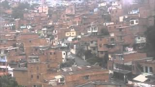 The Favelas in Medellin Colombia