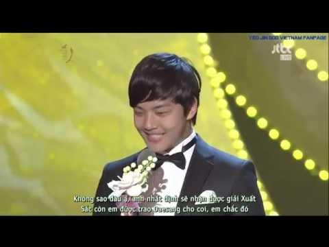 [Yeo-U VN][Vietsub] 48th Baeksang Arts Awards Yeo Jin Goo & Kim Yoo Jung Presentation