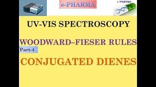 UV-VIS Spectroscopy | Woodward-fieser Rules | Absorption Maximum in conjugated Dienes