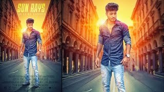 Photoshop Tutorial | Creating Movie Poster | Photo Manipulation