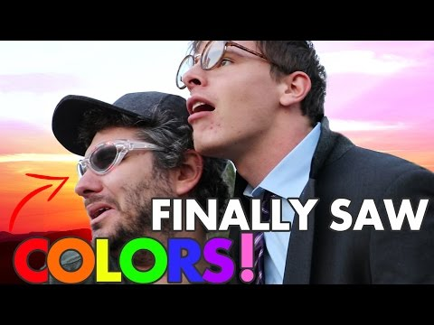 THESE GLASSES CURED OUR COLOR BLINDNESS FT. iDubbbzTV