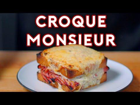 Binging with Babish Croque Monsieur from Brooklyn Nine Nine