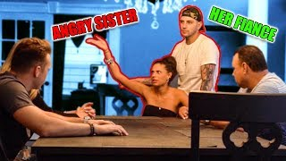 You're not allowed to marry my sister *Prank*